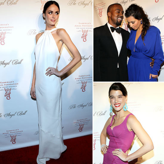 Kim, Kanye and the Model Pack Glam Up for the Angel Ball