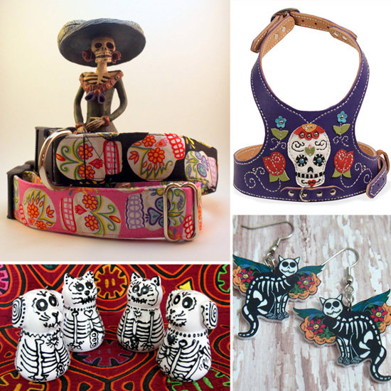 Celebrate Day of the Dead With These 15 Etsy Finds For Your Pet!