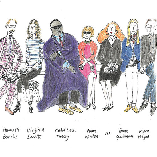 Grace Coddington Sketches Unveiled in Memoirs