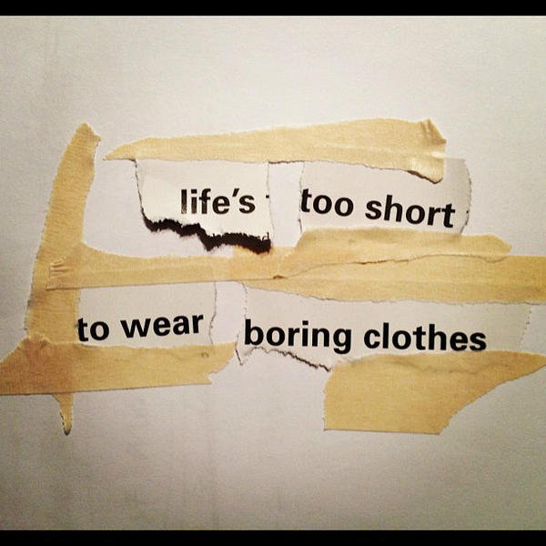 Well said, sass & bide. Source: Twitter user sass_and_bide