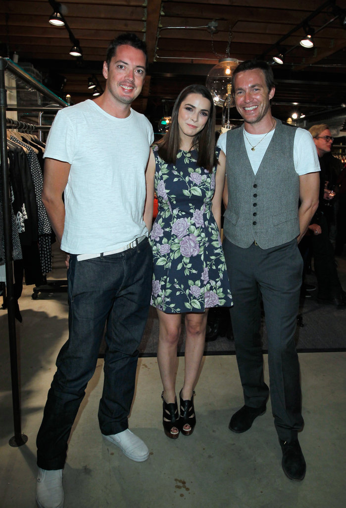 Cameron and Reese Sip Champagne at Rag & Bone's New LA Store