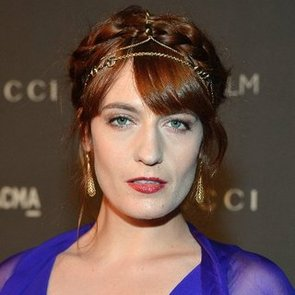 Florence Welch's Hair Chain at the LACMA Event