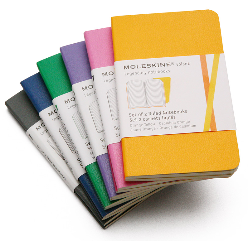 Moleskine Volant Mini Ruled Notebook