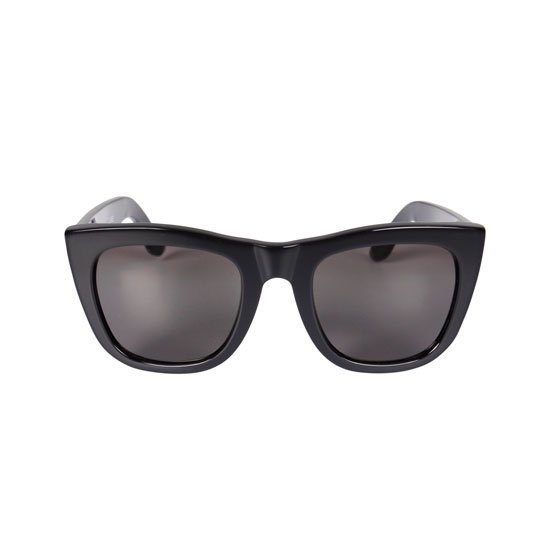 When you're out in the sun all day, sunnies are an essential. I prefer super dark frames and lenses and like that this pair has a very subtle cat eye shape. — Jess, PopSugar editor Sunglasses, $159.95, Super at General Pants