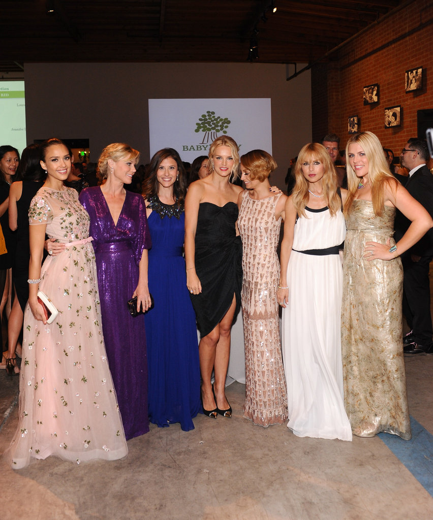 Rachel Zoe, Jessica Alba, Julie Bowen, Busy Phillipps got together to celebrate the Baby2Baby Gala.