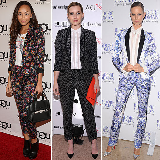Printed Suit Style | 2012