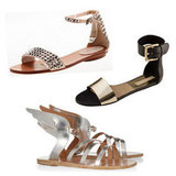 Accessories: Fancy Party Flats, Special Occasion Sandals