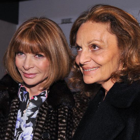 Anna Wintour & Diane von Furstenberg on Tory Burch's Lawsuit