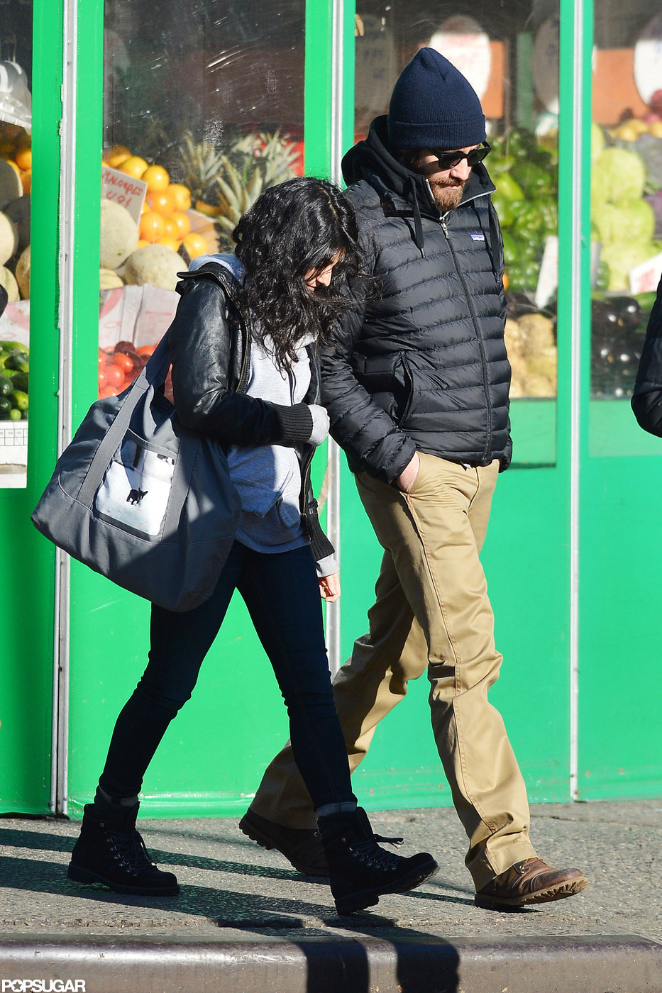 Jake Gyllenhaal had an afternoon out with a female friend in NYC.