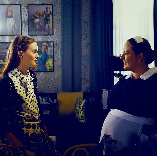 Blair Waldorf and Serena Van Der Woodsen style