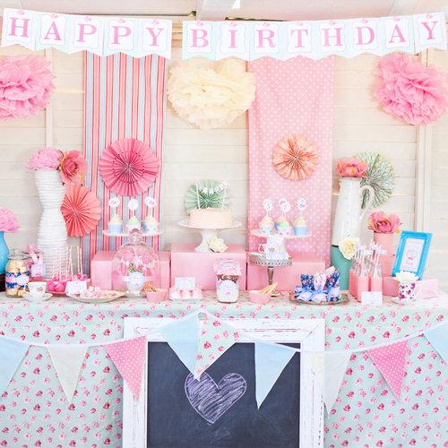 Shabby Chic Princess Birthday Party