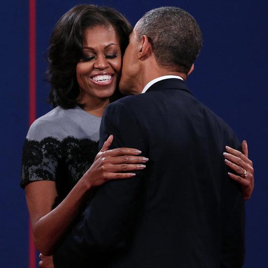Mitt Romney and Ann Romney Kissing