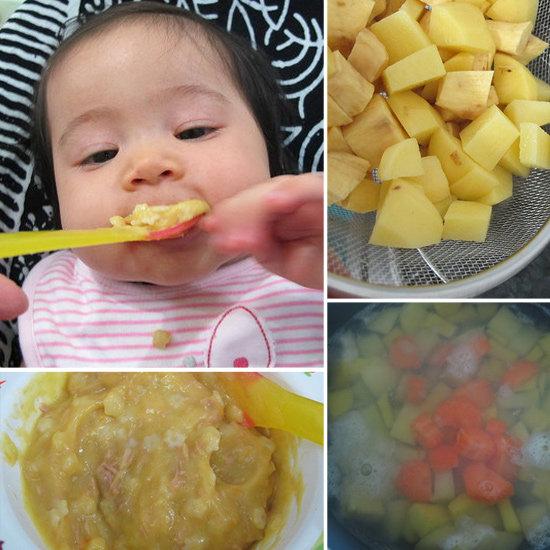 Potato, Sweet Potato, and Tuna Pasta