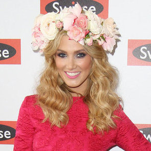 Pictures of Delta Goodrem at the 2012 Melbourne Cup