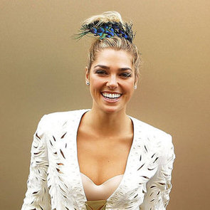 Pictures of Ashley Hart at the 2012 Melbourne Cup