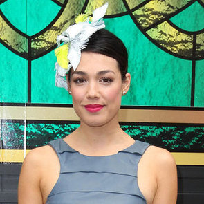 Pictures of Melanie Vallejo at the 2012 Melbourne Cup
