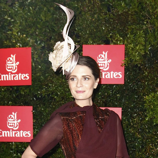 Pictures of Mischa Barton at the 2012 Melbourne Cup