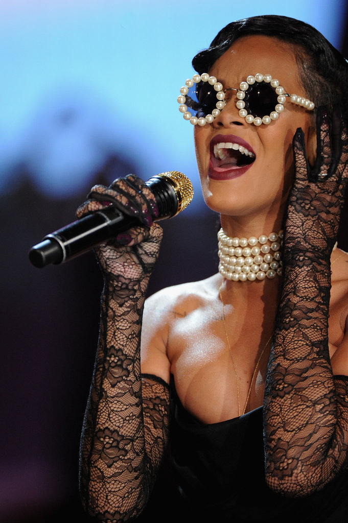 Rihanna performed as part of the Victoria's Secret Fashion Show in NYC.