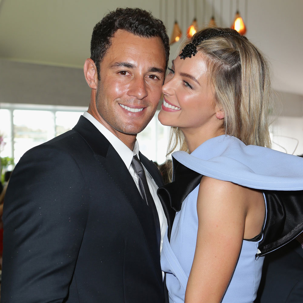 Jake Wall and Jennifer Hawkins