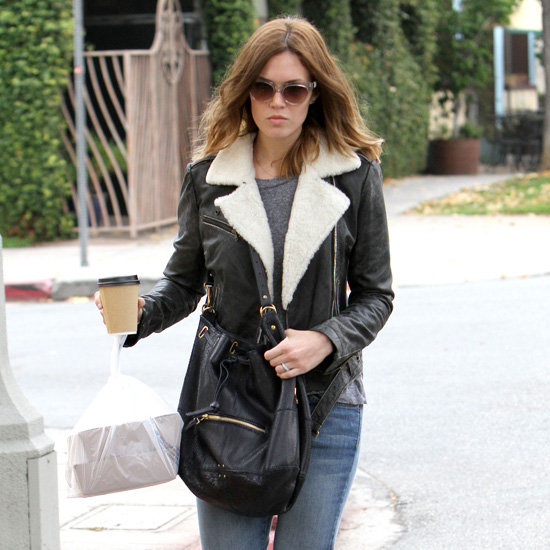 Mandy Moore Wearing Snake Sneakers