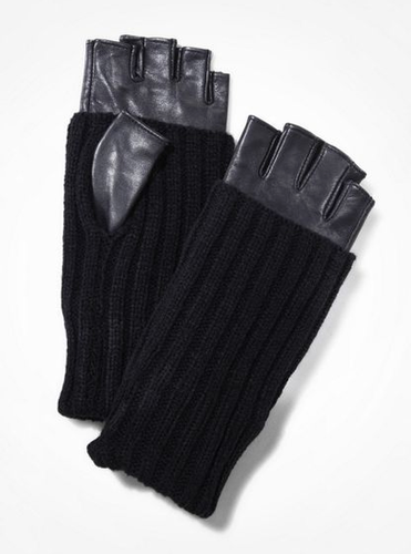 Because I lose gloves on a weekly basis, I keep a stockpile of different styles, and I was so psyched to find these edgy cool Express gloves ($50). The long ribbing makes them extra warm, and fingerless is a must for a texter like me. They look ultra luxe, and make for a great stocking stuffer! — Noria Morales, style director