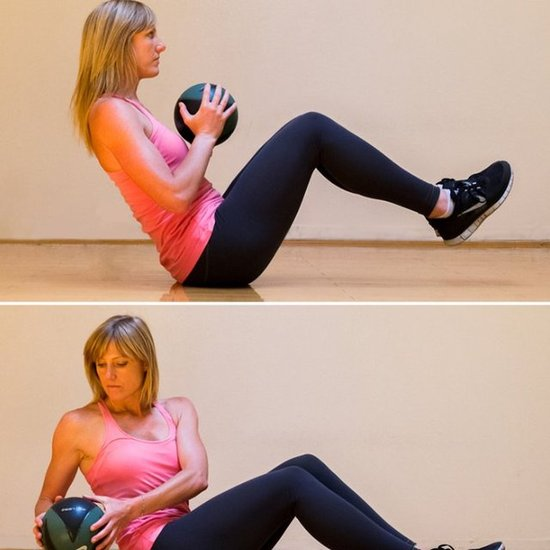 How to Exercise With a Medicine Ball at Home
