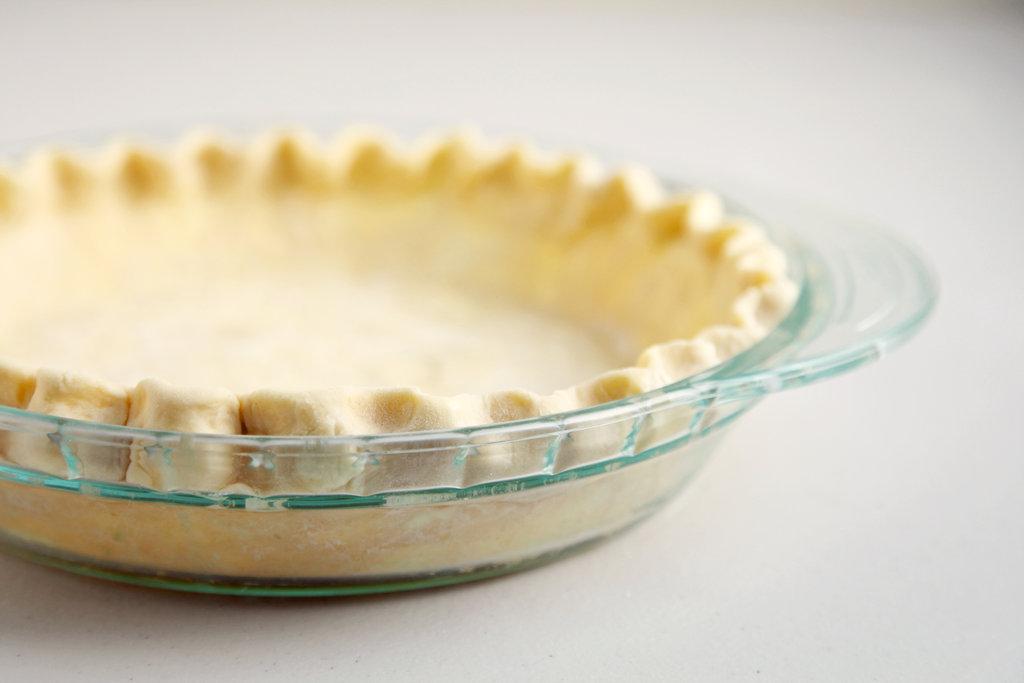 Crimped Pie Crust
