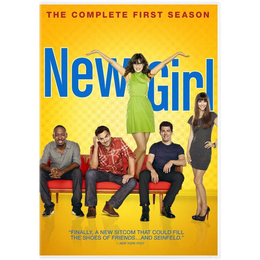 New Girl: The Complete First Season DVD ($40)