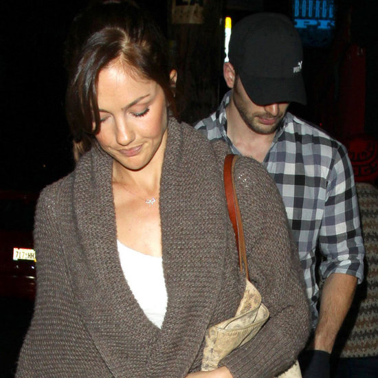 Chris Evans and Minka Kelly on a Sushi Date in LA