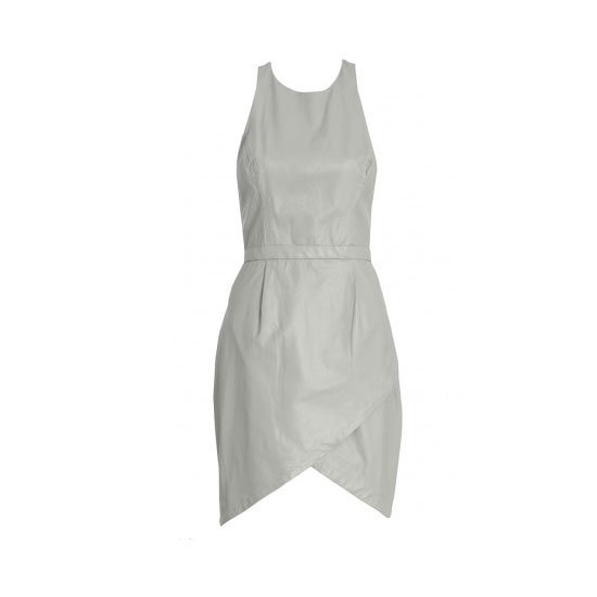 Nothing looks slicker in Summer that white leather. Pick a streamlined shell top or a chic dress like this. Dress, $895, Zimmermann