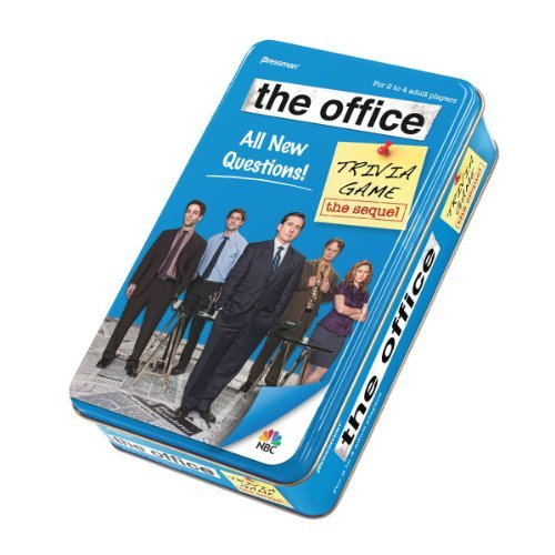 The Office Trivia Game in Tin — The Sequel ($10)