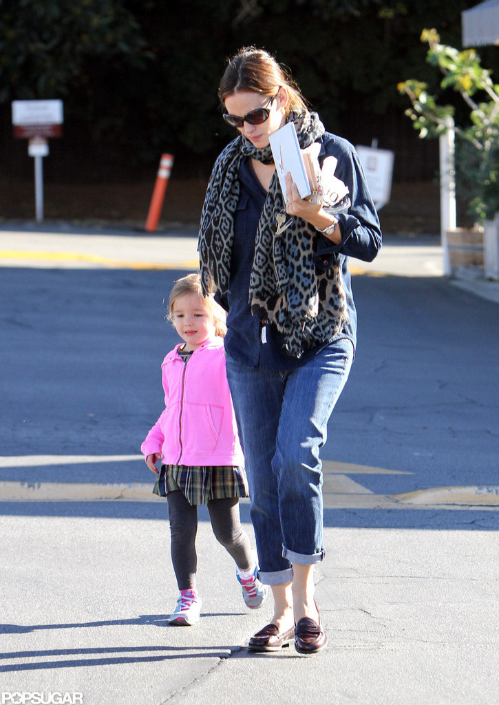 Jennifer Shops With Seraphina After Ben Speaks Out