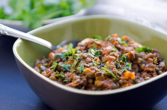 Red Curry Lentils (Vegan)