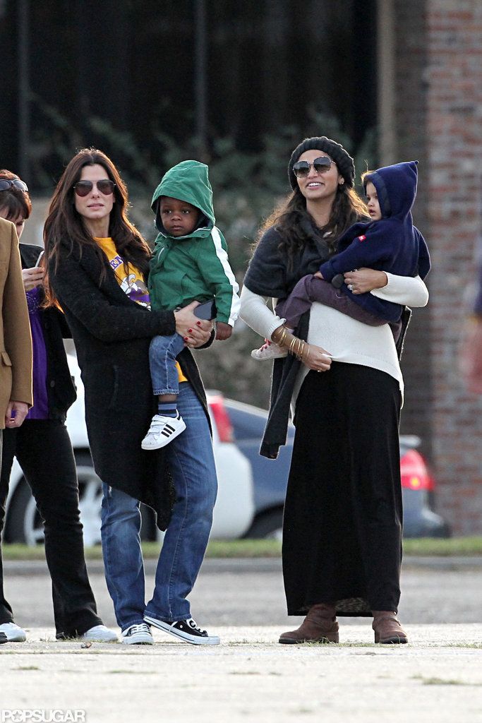 Sandra Bullock With Camila Alves and Their Kids | POPSUGAR ...