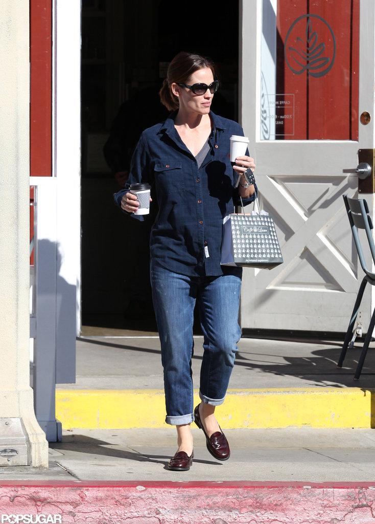 Jennifer Garner walked in LA.