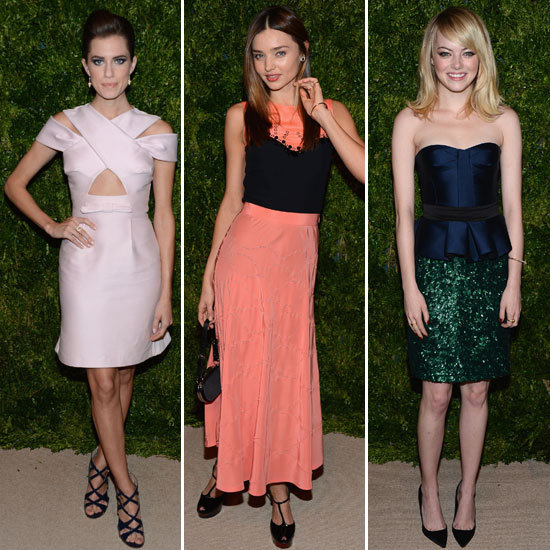 Emma Stone at CFDA Fashion Fund Awards 2012 (Pictures)