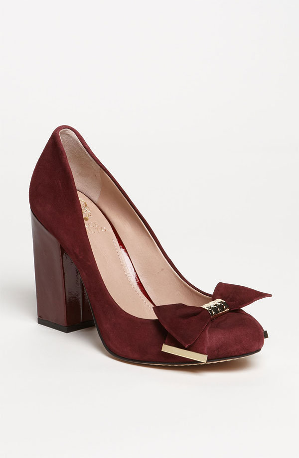 For a festive pump you can still wear to the office, look to these Vince Camuto Verona Pumps ($118).