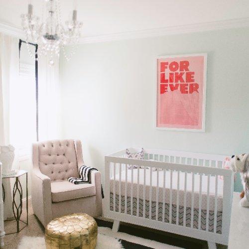Mint-Green Baby Nursery