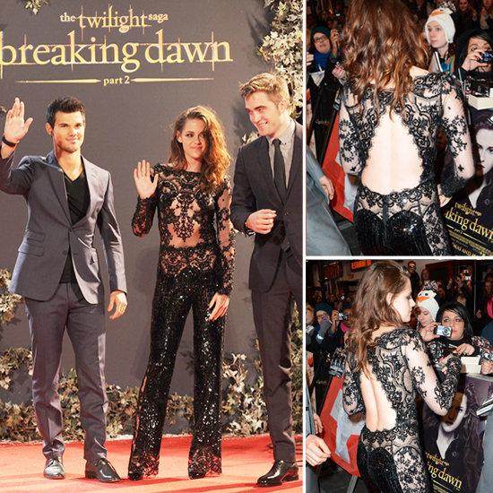 Breaking Dawn Part 2 UK Premiere Kristen Stewart Pictures