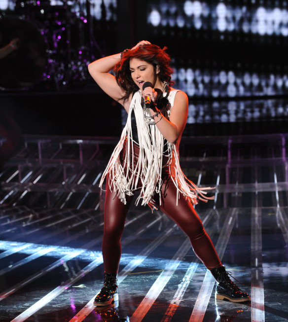 """Jennel Garcia sang """"Proud Mary."""""""