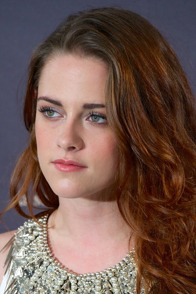 Kristen Stewart was out in Madrid to promote Taylor Breaking Dawn — Part 2.