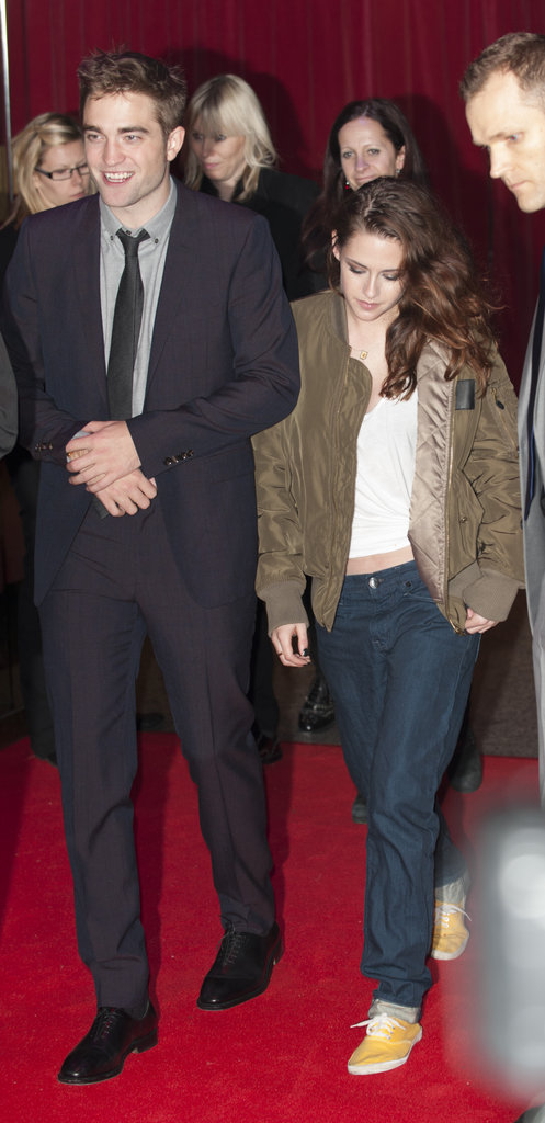Kristen Makes a Quick Change to Party With Rob
