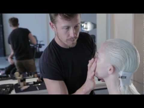 Max May How to Makeup Video for Bronze Eye Red Lip