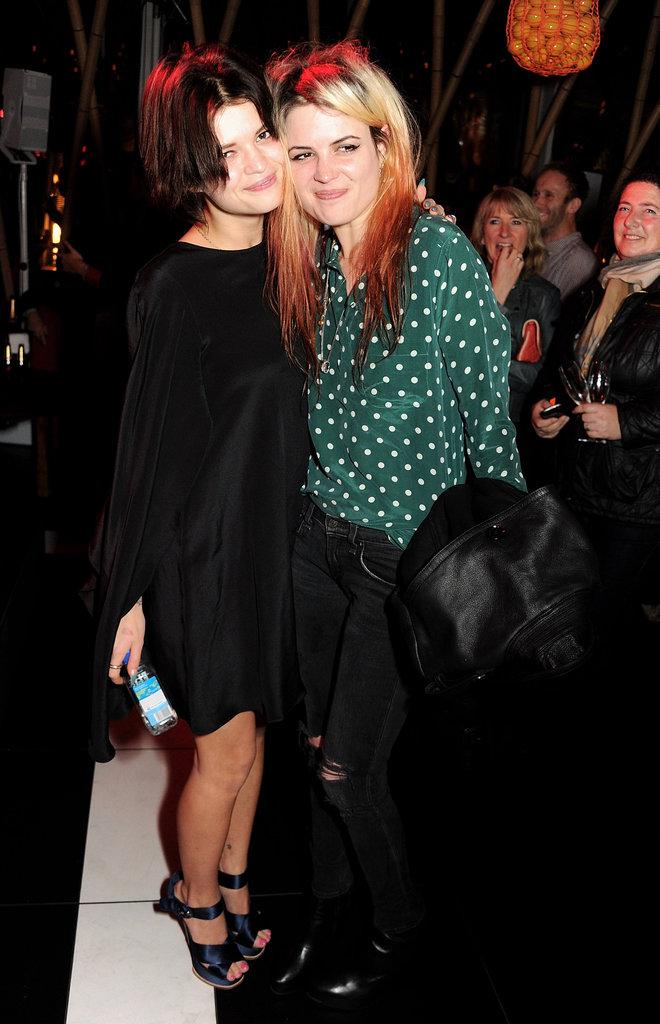 Pixie Geldof and Alison Mosshart