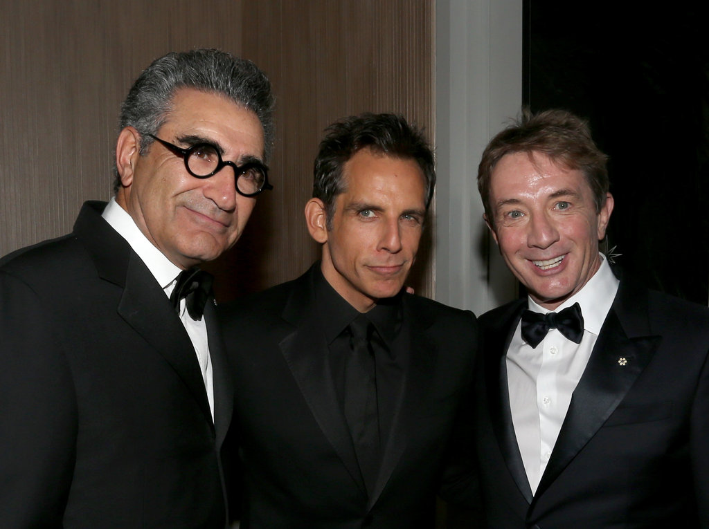 Ben Stiller Accepts a Major Award With Jen, Justin, and Friends
