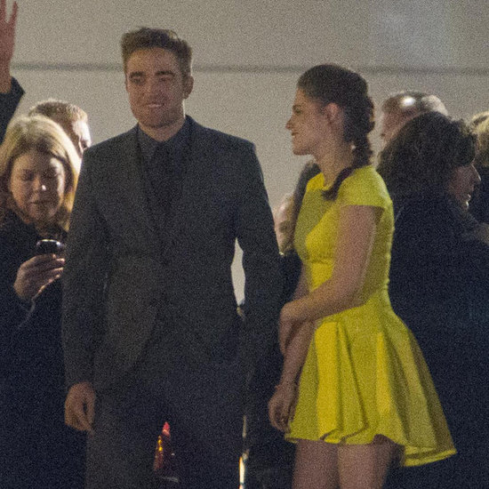 Kristen Stewart and Robert Pattinson at Madrid Afterparty