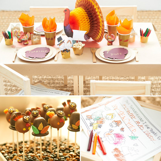 Kids Thanksgiving Table Ideas 550 x 550