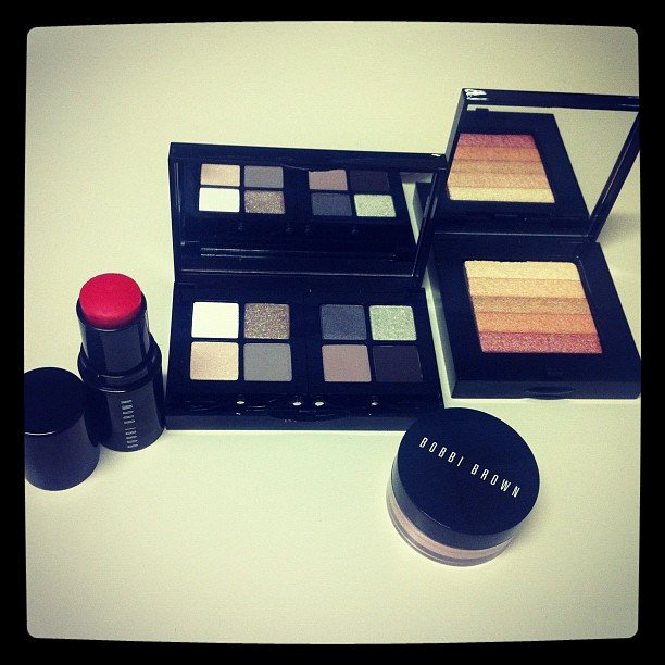 Delicious new Bobbi Brown beauty bits. We all died and went to a very pretty heaven when we saw these.