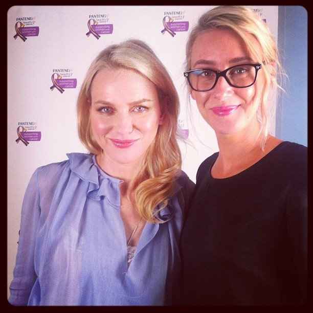 Alison interviewed Pantene ambassador Naomi Watts, who turned out to be lovely and so sweet.