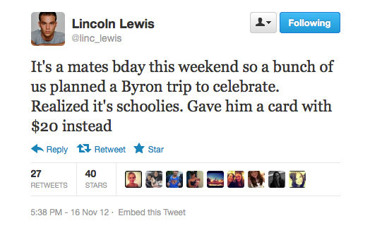 That was a wise choice, Lincoln.